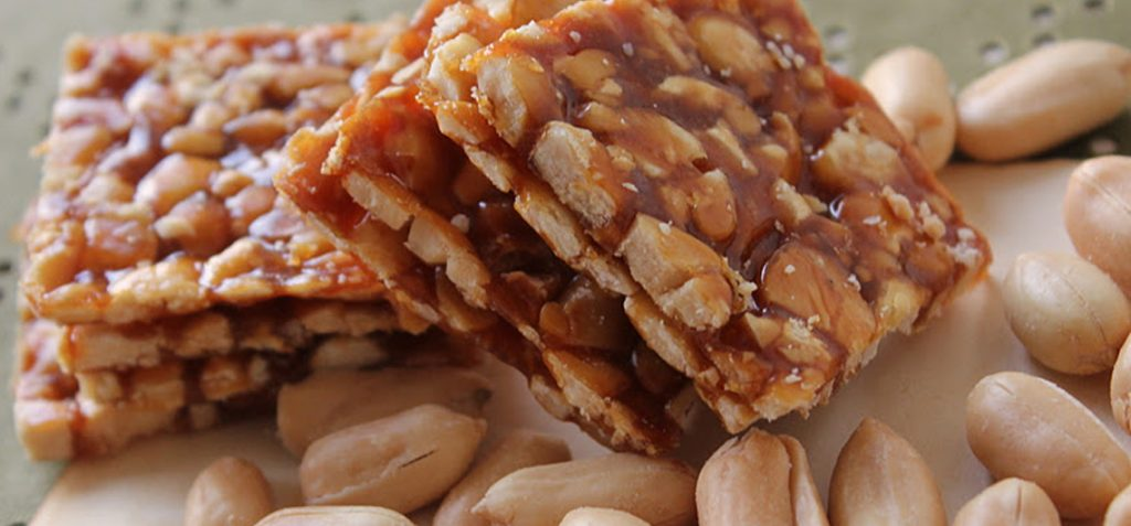 winter food items Chikki
