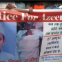 Justice for 8 Year Old Mohammed Azeem, Protest in Jamia Nagar